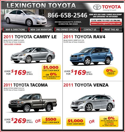 Toyota Lease Specials Toyota Lease Specials 2017 2018 Best Cars Reviews