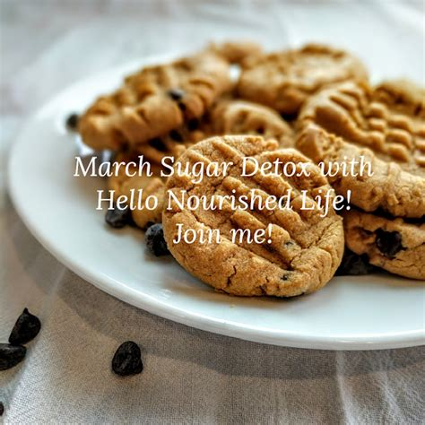 March Detox by March Sugar Detox Challenge Hello Nourished