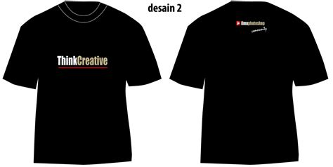 Kaos The 2 desain kaos 2 tutorial adobe photoshop gratis