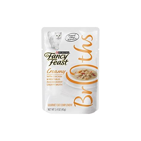 Fancy Feast Kitten Tender Whitefish 85gr pouch of fancy feast broths for cats tuna chicken whitefish sixteen 16 1 4oz