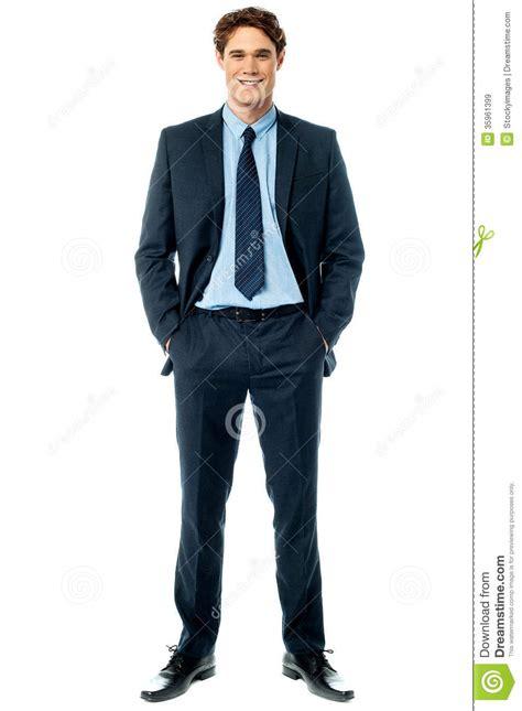 stylish smiling sales executive stock image image