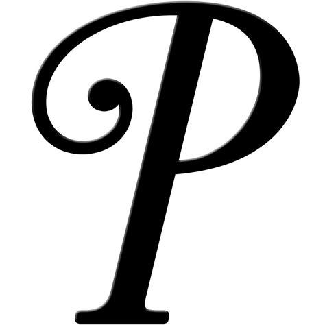 Letter Pic fancy letter p clipart letters exle