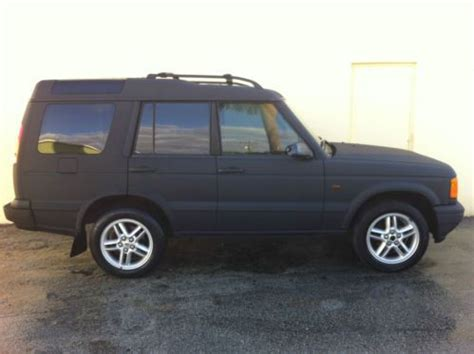 small engine repair training 2001 land rover discovery series ii parking system find used custom spectra coated land rover discovery ii se one of a kind no reserve in