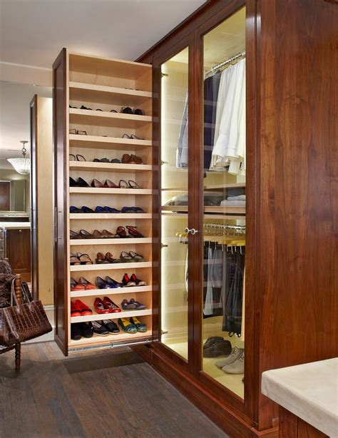 slide out shoe storage closet ideas closet traditional with shoe closet dressing
