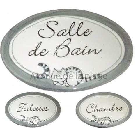 Plaque De Porte Wc Et Salle De Bain by Plaque De Porte Chacha Chambre Toilettes Salle De Bain
