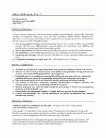 acting resume sle resume exles for nursing school augustais