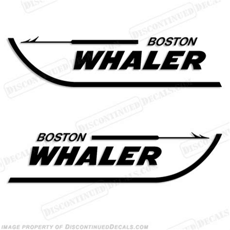 boat logo decals boston whaler boats logo decal any color