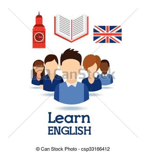 vector clip of learn design learn