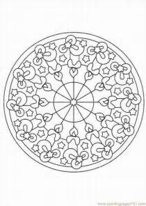 Coloring Pages Kaleidoscope Other &gt  Free Printable sketch template