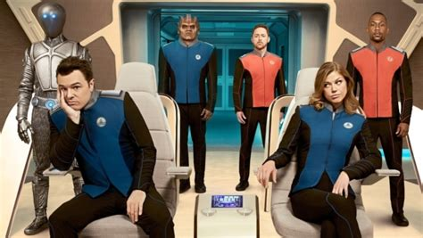 the orville season one review is seth macfarlane s star