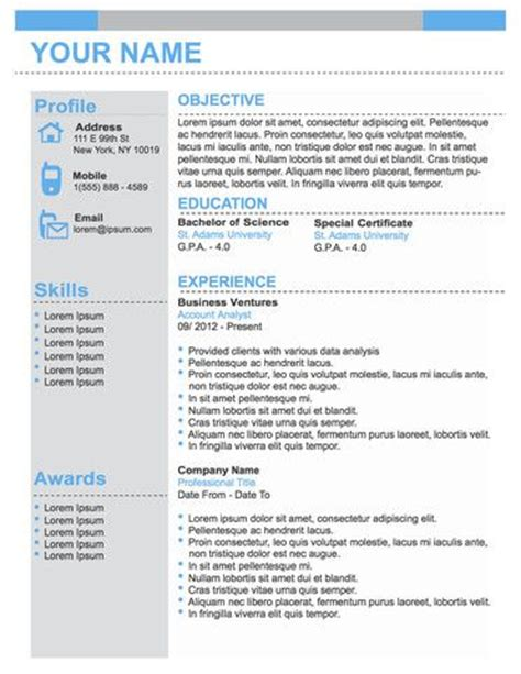 original resume templates number one professional business 50 with code take50