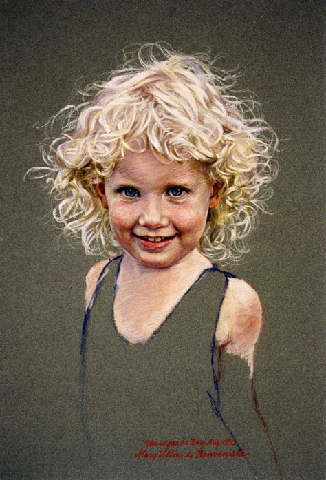 Child Portrait by 978 Best Pastel Images On Artists Cards
