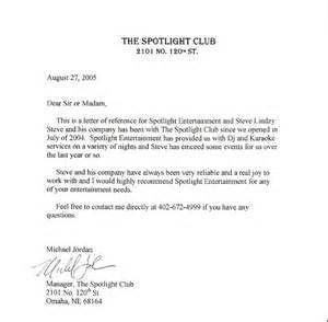 Country Club Resignation Letter Sle by Spotlight Entertainment Omaha