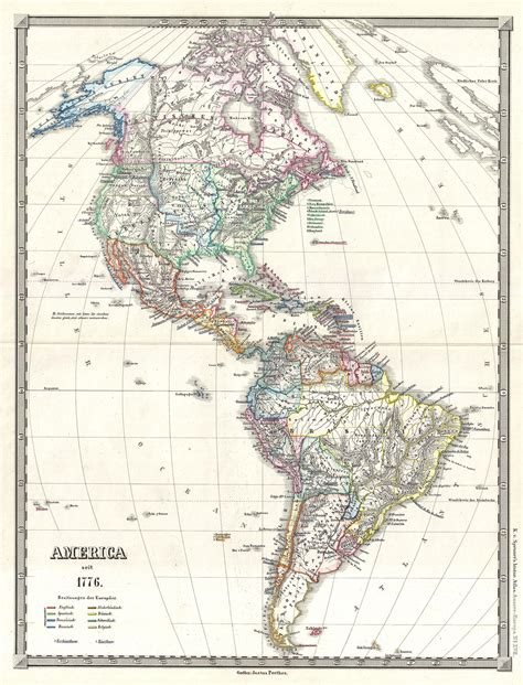 america s file 1855 spruner map of the americas since 1776