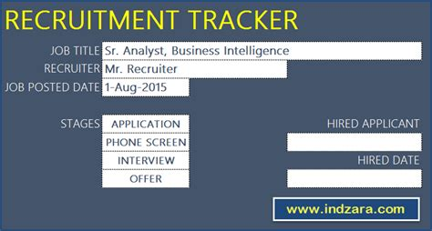 Recruitment Tracker Spreadsheet Free Hr Excel Template Recruitment Tracker Excel Template