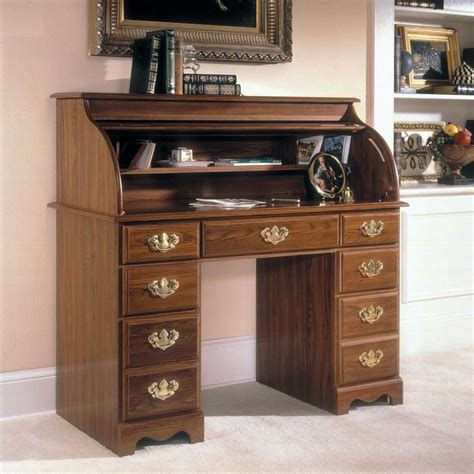 roll top office desk oak roll top desk home office buying tips