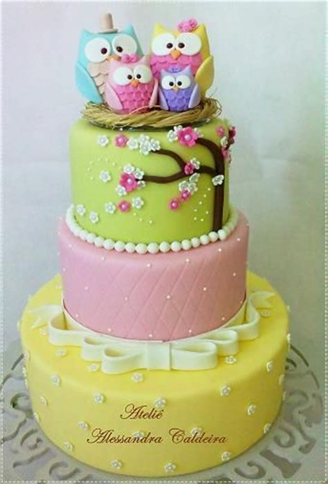 Piyama Wanita Owl Family Yellow 1000 images about owl cakes cup cakes on cakes owl themed and owl