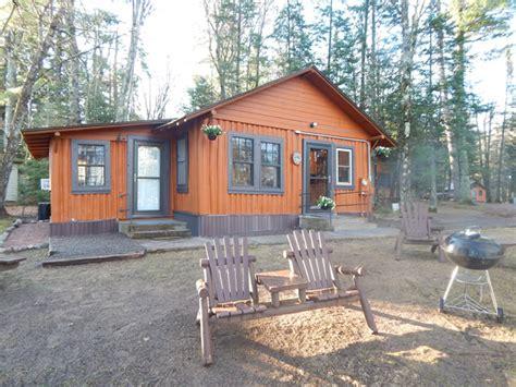 Portage Lake Cabins by Resort Cabin Rentals On Grand Portage Lake In Mercer