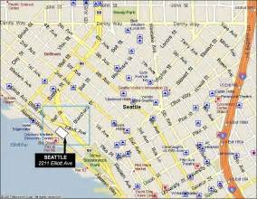 Map Downtown Seattle by Facilities Web Campus Maps