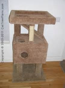 Cat Furniture Plans by 17 Best Images About Diy Cat Tree Plans On