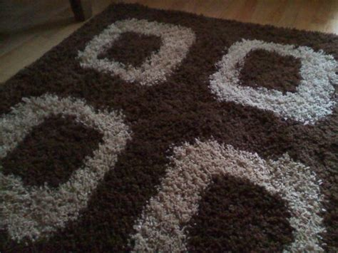 large brown shaggy rug beigebrown shag pile rug large for sale in kildare from kkelly77