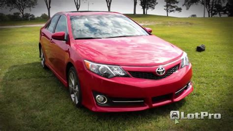 2012 Toyota Camry Se Review by Lotpro New Car Reviews 2012 Toyota Camry Se