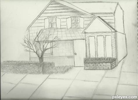 draw my house my dream room drawing