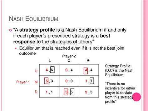 ppt game theory mixed strategy nash equilibrium