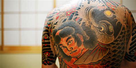 yakuza tattoo liver damage bicycles umbrellas and love hotels crime japanese style