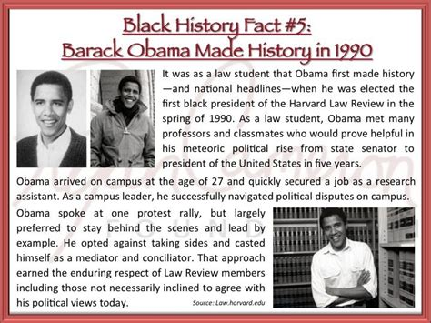 the obama years just the facts books black history fact 5 before barack obama was potus the