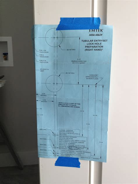 How To Install An Emtek Lausanne Entrance Handleset Emtek Hardware Templates