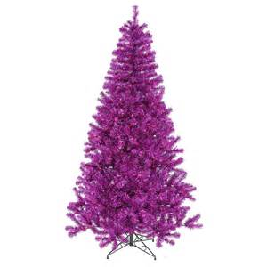 7 foot purple christmas tree purple mini lights b882071