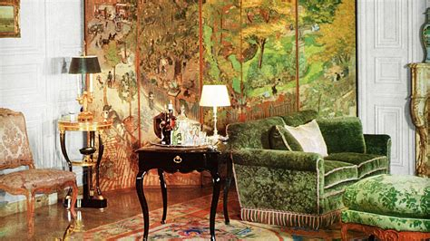 acclaimed french interior designer henri samuel
