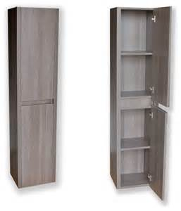 contemporary bathroom storage modern side cabinet grey oak modern bathroom cabinets