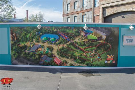 star wars land layout hollywood studios where will star wars land and toy story land go in