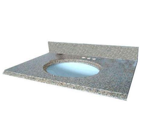 31 Inch Granite Vanity Top by Pegasus 16649 31 Inch By 22 Inch Solid Granite Vanity Top
