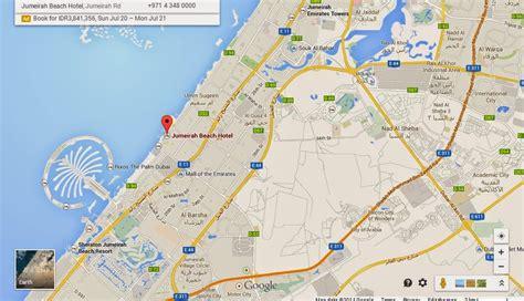 jumeirah resort map madinat jumeirah map location