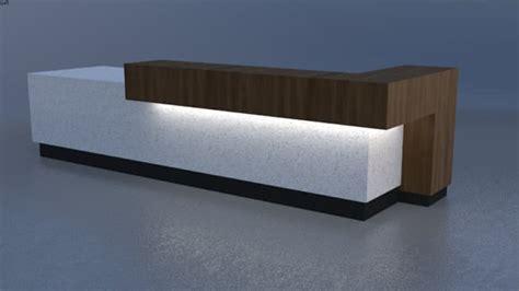 Contemporary Desk modern contemporary reception desk 3d warehouse
