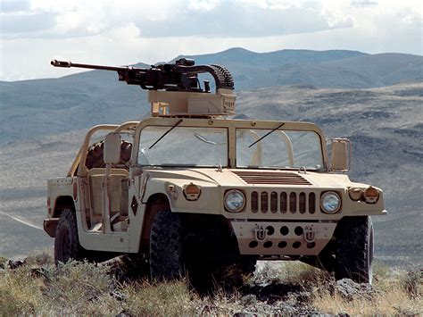 military jeep with gun us m1097a2 hmmwv with what i assume is a lightened m242