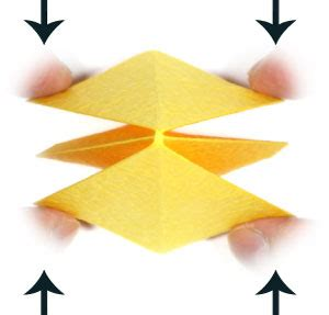 6 Pointed Origami - how to make an embossed six pointed origami page 2