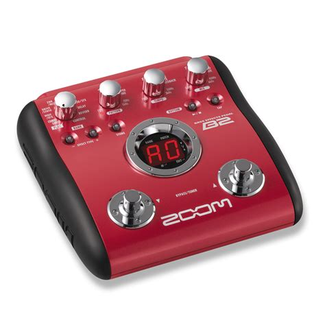 Zoom B3n Bass Pedal b2 bass effects pedal zoom