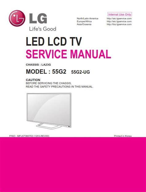 lg  ug led tv service manual schematics   tv