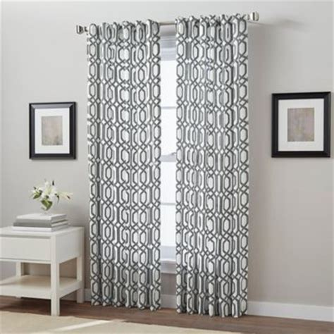 anthology bungalow shower curtain buy aqua and coral curtains from bed bath beyond