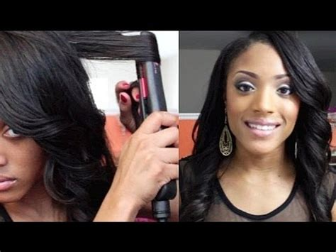 curling iron on short african american hair how to curl hair with a flat iron1966 magazine