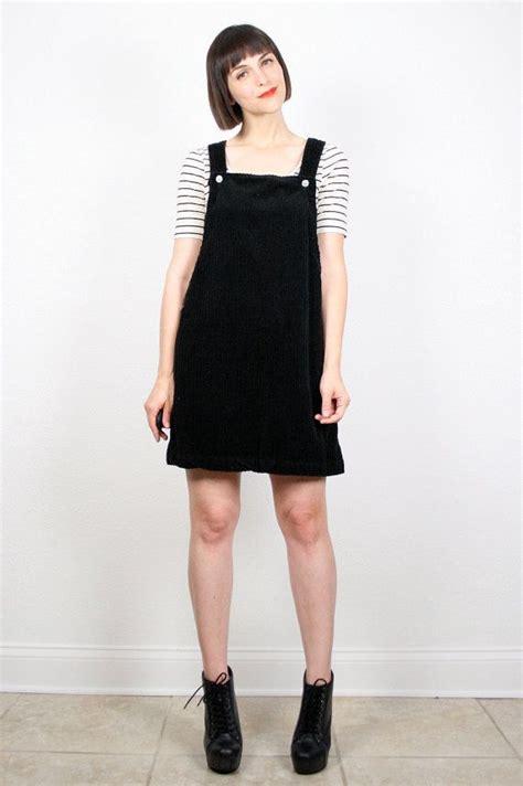 overall black black overall dress wardrobe mag