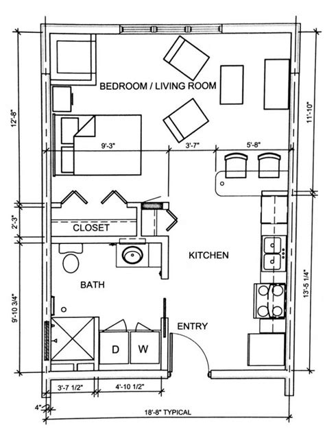 studio floor plan studio floor plans studio apartment floor plans 400 sq ft