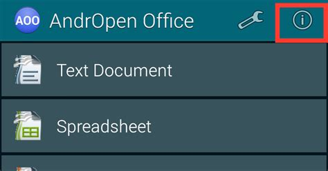andropen office openoffice for android how to