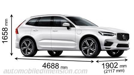 Volvo Xc60 Dimensions by Volvo Xc60 2017 Dimensions Boot Space And Interior