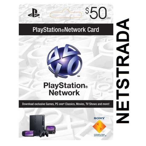 Gift Card For Ps4 - psn 50 sony playstation network 50 gift card ps3 psn psp ps4 vita code emailed
