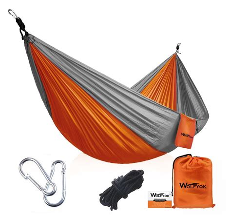 Portable Camping Hammock $19.99 from $40!   AddictedToSaving.com